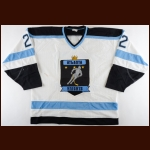 1992-93 Mark Green Atlanta Knights Game Worn Jersey - Inaugural Season
