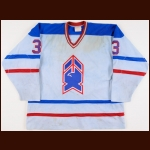 1982-83 Dean Turner New Haven Nighthawks Game Worn Jersey