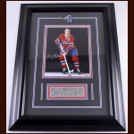 Jean Beliveau Montreal Canadiens Autographed Photo – Matted and Framed – Deceased