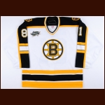 2007 Phil Kessel Boston Bruins Young Stars Game Worn Jersey – Rookie - Bill Masterton Trophy – Young Stars Letter
