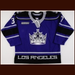 1999-00 Jason Podollan Los Angeles Kings Game Worn Jersey – Alternate