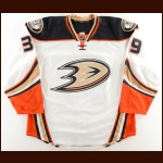 2016-17 Mason Raymond Anaheim Ducks Game Worn Jersey - Last NHL Game - Photo Match
