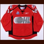 "2008 Casey Cizikas Team OHL Canada-Russia Challenge Game Worn Jersey – ""2008 Canada-Russia Challenge"""