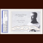 Jack Ruttan Autographed Card - The Broderick Collection - Deceased