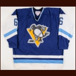1979-80 Kim Clackson Pittsburgh Penguins Game Worn Jersey