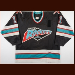 Early 1990's Trever Fraser Tacoma Rockets Game Worn Jersey