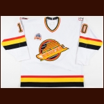 "1993-94 Pavel Bure Vancouver Canucks Game Worn Jersey – ""1994 Stanley Cup Finals"" – ""2 Pts. F.G."" - 60-Goal & 107-Point Season - 1st Team NHL All Star - Photo Match"