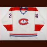1988-89 Donald Dufresne Sherbrooke Canadiens Game Worn Jersey - Career Best 170 PIMS