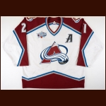 "2000-01 Peter Forsberg Colorado Avalanche Game Worn Jersey – ""2001 Colorado All Star"" – Stanley Cup Season – All Star Season"