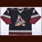 2002-03 Tony Amonte Phoenix Coyotes Game Worn Jersey - Photo Match