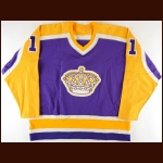 1980-82 Charlie Simmer Los Angeles Kings Game Worn Jersey