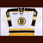 1999-00 Ken Belanger Boston Bruins Game Worn Jersey