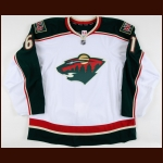 2011-12 Zack Phillips Minnesota Wild Game Issued Jersey