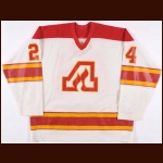 1979-80 Gord Wappel Atlanta Flames Game Worn Jersey – Rookie