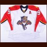 2012-13 Stephen Weiss Florida Panthers Game Worn Jersey - Photo Match - Team Letter