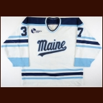 1994-95 Blair Marsh University of Maine Game Worn Jersey