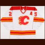 1988-89, 1989-90 & 1990-91 Joe Nieuwendyk Calgary Flames Game Worn Jersey - 50-Goal Season – Stanley Cup Season – 2 All Star Seasons