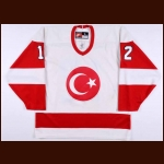 2000 Argun Ture Turkish National Team World Championships Game Worn Jersey