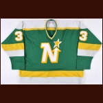1982-83 Don Beaupre Minnesota North Stars Game Worn Jersey
