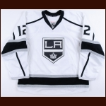 2015-16 Marian Gaborik Los Angeles Kings Game Worn Jersey - Photo Match – Team Letter