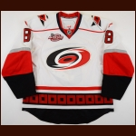 "2010-11 Patrick O'Sullivan Carolina Hurricanes Game Worn Jersey – ""2011 Carolina All Star"" - Photo Match – Team Letter"