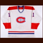 Mid 1980's Ryan Walter Montreal Canadiens Game Worn Jersey