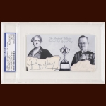 Lord & Lady Byng Autographed Card - The Broderick Collection - Deceased