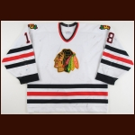1997-98 Marian Hossa Portland Winter Hawks Game Worn Jersey – Rookie