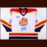 2007-09 Jokerit Helsinki Junior Team Game Worn Jersey – Player #24