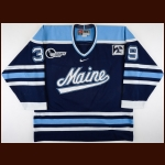 "2002-03 Matt Greyeyes University of Maine Game Worn Jersey – ""20-year Anniversary"""