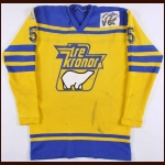 Circa Late 1970's Swedish National Team Game Worn Jersey – Player #5 - Salming Era