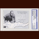 "Ivan ""Ching"" Johnson Autographed Card - The Broderick Collection - Deceased"