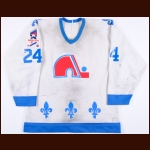 "1986-87 Robert Picard Quebec Nordiques Game Worn Jersey – ""Rendezvous '87"""