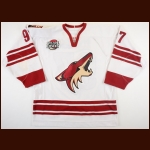 "2006-07 Jeremy Roenick Phoenix Coyotes Game Worn Jersey – ""Decade in the Desert – 10-year Anniversary"" - Photo Match – Team Letter"