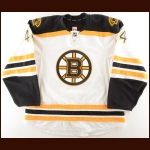 2016-17 Rob O'Gara Boston Bruins Game Issued Jersey – Team Letter