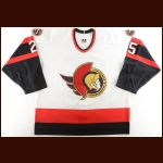 2002-03 Chris Neil Ottawa Senators Game Worn Jersey – Photo Match – Team Letter