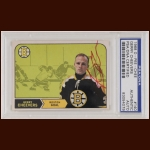 Gerry Cheevers 1968 OPC - Boston Bruins - Autographed - PSA/DNA
