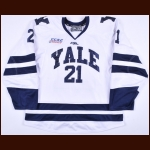 2014-15 John Hayden Yale University Game Worn Jersey